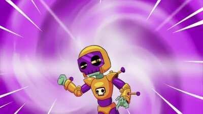 Classic Brainy's Buzzard Adventure animated