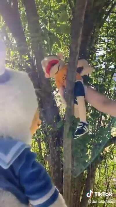 Donald Meets Jeffy!
