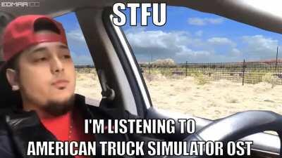 Just Listening To The American Truck Simulator OST