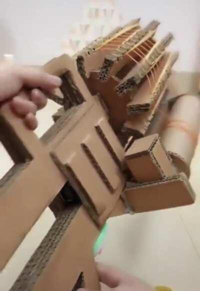 The rubber band Gatling gun