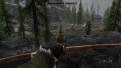 Highlights from when a Wood Elf followed me across Skyrim with only one goal... to punch my face. A bit long video I know I am sorry, but I hope it might give a few laughs.