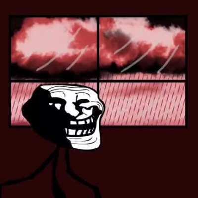Troll face...