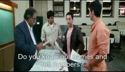 This scene from a Bollywood movie
