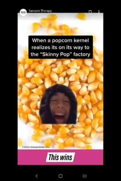 Skinny Pop, baby