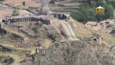 [Combat Edit] Taliban fighters attack several ANA hilltop positions