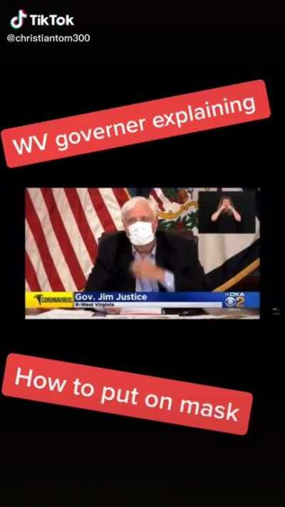 Governor knows how to do it right