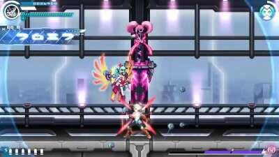Suffers the same problem as some of the bosses in Gunvolt 2 but worse