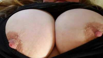 My huge and heavy tits need attention and affection. [OC]