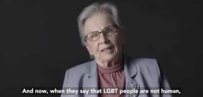 Warsaw uprising survivors talk about attacks on LGBT people.