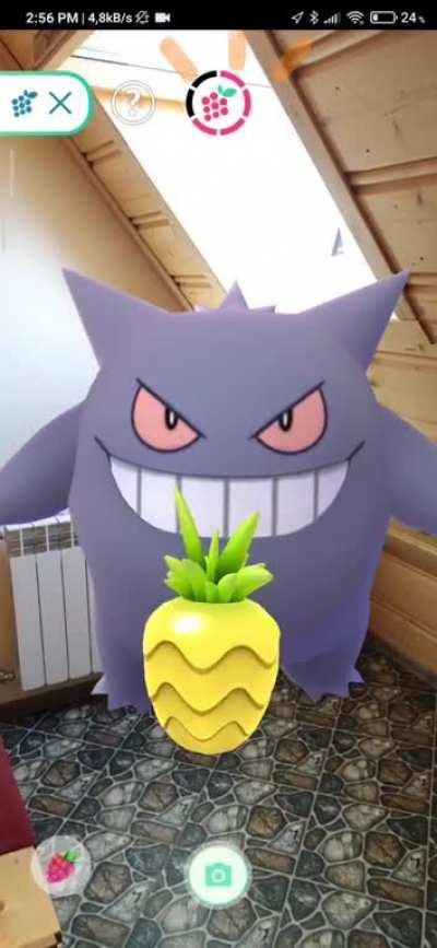 God, I love Gengar's eating animation