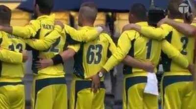 Australian cricket team.