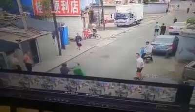 Man Initially Walks off Vicious Sword Wielding Attacker, Collapses from His Injuries