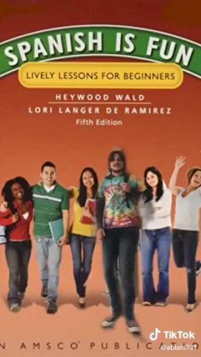 Spanish textbook drip check 💧