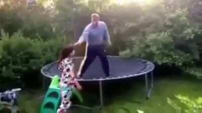 HMB, I will show you how to trampoline