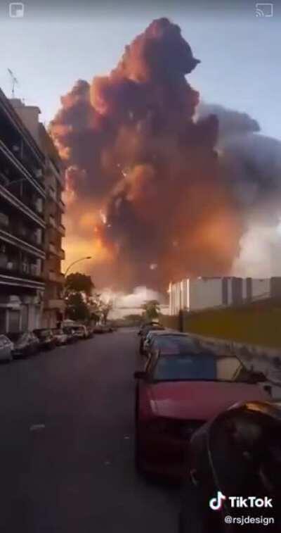 craziest video of beirut explosion yet