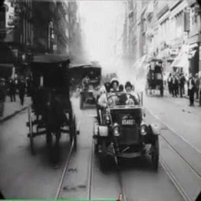 This video of New York from 1911