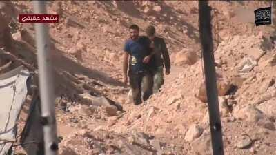 syria east aleppo 2019 hts hunting to saa and iranian militans