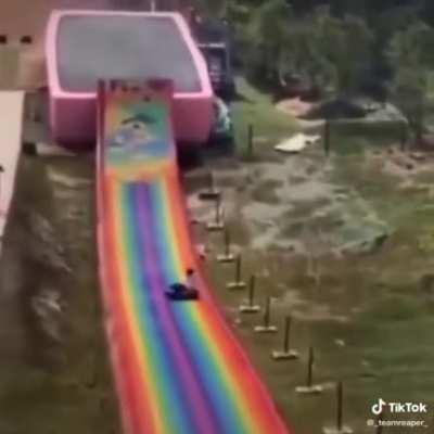 Wholesome Water slide
