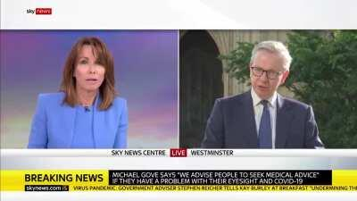 Micheal Gove responds to comments from the Bishop of Leeds on the governments backing of Dominic Cummings' breach of lockdown rules
