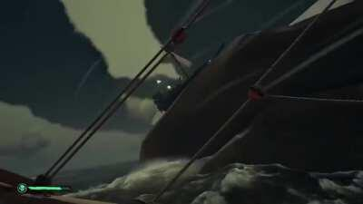 sailing has never been so scary