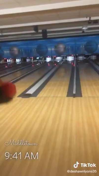 Bowling hard out here