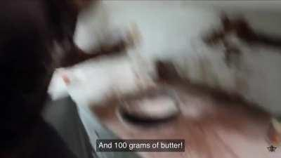 Swedish-style melting butter