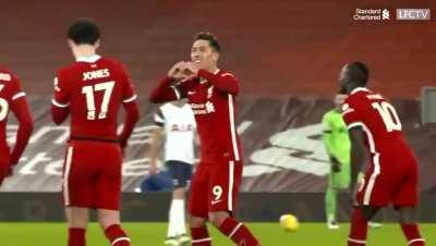 Bobby gesturing 'God loves you' to the Kop. I love this guy.