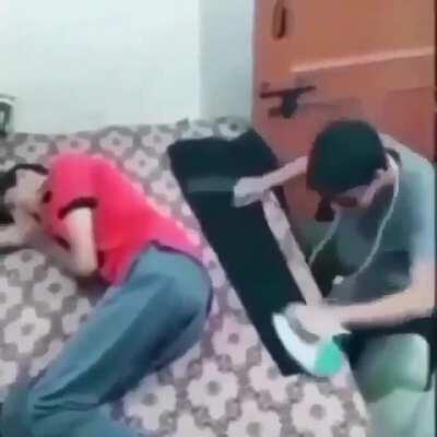 The third world ironing