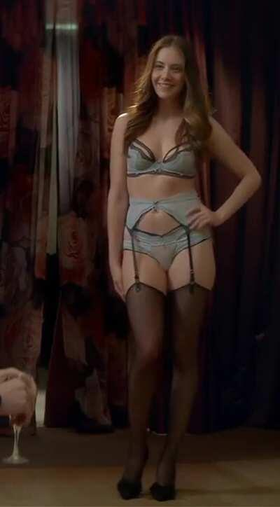 Alison Brie Lingerie Spin - Upscaled 4X For That Ab Definition