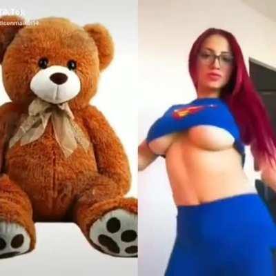 Mira el oso 😡