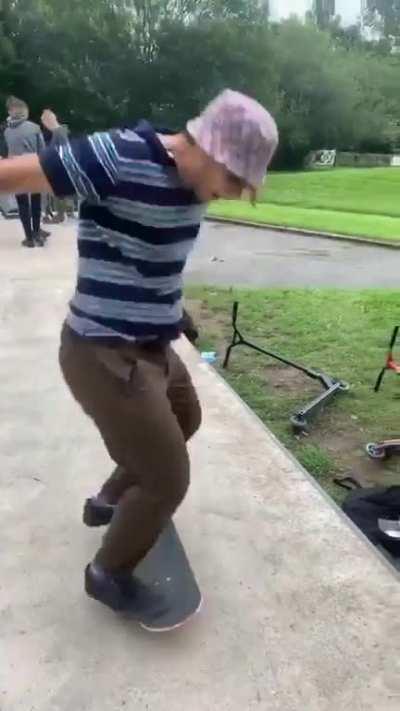 First kickflip