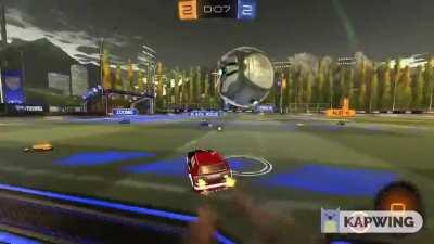 The Greatest Save in Rocket League