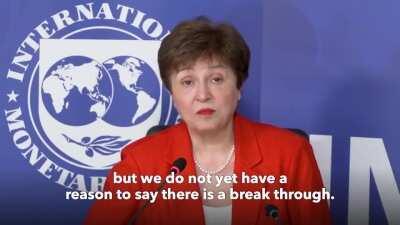 IMF Chief Kristalina Georgieva talks about the economic crisis in Lebanon, and Lebanon's request for IMF assistance.