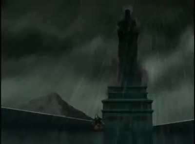 THIS is actually the first time we see lightning redirected - by Iroh of course (S1E12)