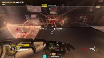 This McCree on my team had a huge POTG that won us the match. I was screaming so loud when this happened!