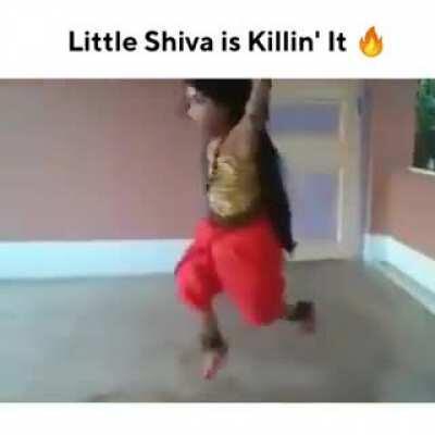 Little Shiva killin it
