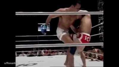 Kazushi Sakuraba messing people up for 60 seconds