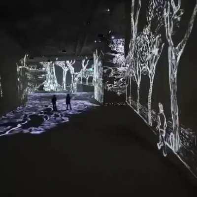 Atelier des Lumieres: Van Gogh exhibit combines art, music into immersive experience K