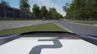always nice racing in ACC