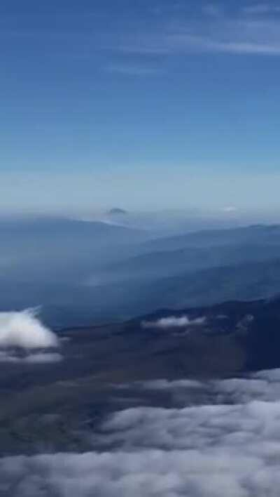 All the mountains and Volcanos seen from Volcán Cotopaxi (video from a friend) hope you enjoy it