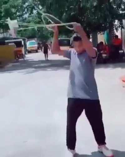 Amazing display of physics
