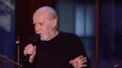 Probably my favorite George carlin video