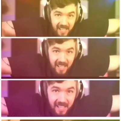 Do you ever see Jack and wonder what is going on inside his head? P.s: All these clips are from 1 video.