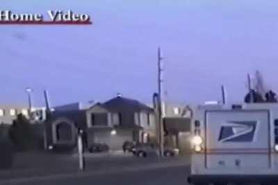 Video of mass murderer dylan klebold going to school