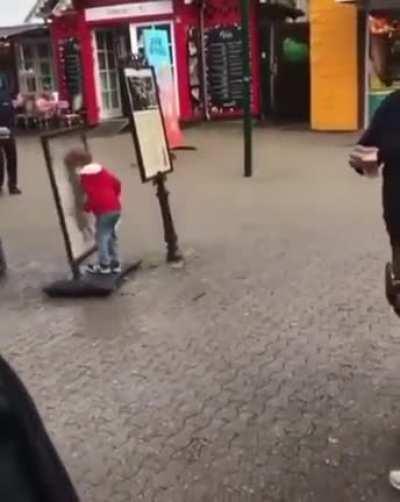 This kid in Denmark