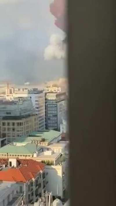 Just received this! Beirut explosion, OMG!