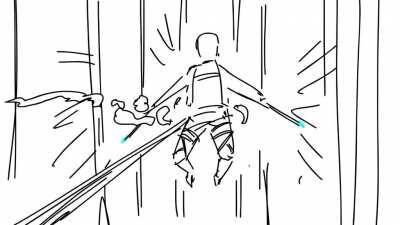 [OC] attack on Titan fan animation