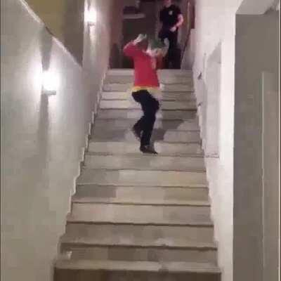 staircase dance