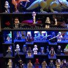 Spent the last few years building this display with my father, consisting of the rarest Star Wars minifigures I collected throughout my childhood...