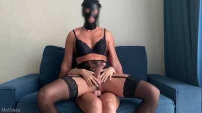 Mistress ruined his orgasm after she Fucked his Slutty Ass - MrsVictoria PH